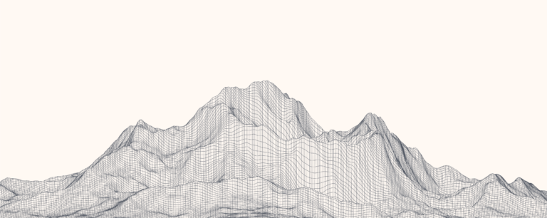 I have this thought about a mountain…