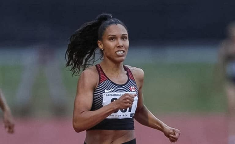 An Interview with Alicia Brown, U of T's Olympian Track Star Olympian Alicia Brown discusses her athletic roots, the role UTM played in her career, and the support Canada showed her team.