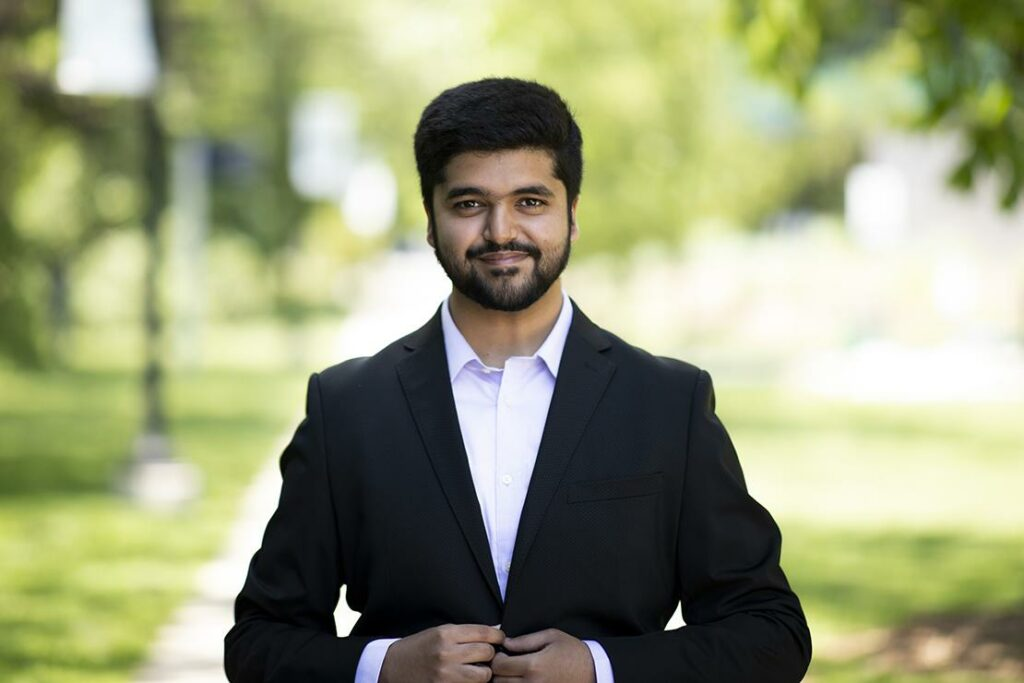 UTM 2021 Valedictorian - Adwet Sharma