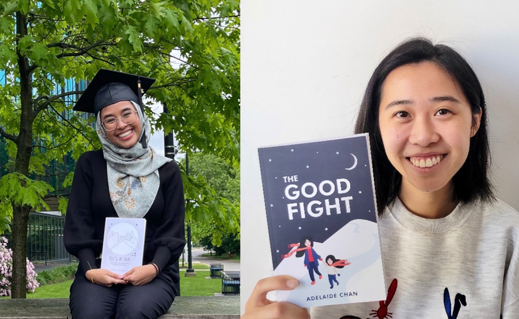 Student authors Highlight - WRI420 Making a Book