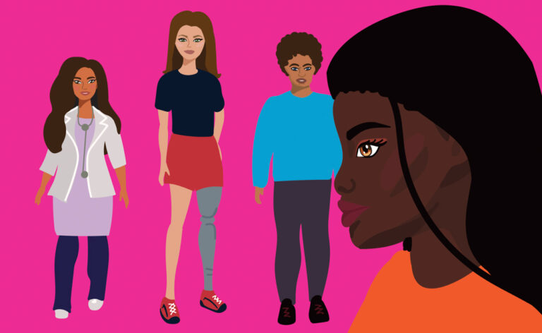 When I grow up, I want to be… Recognizing how representation of women of colour through toys, namely Barbie dolls, encourages youth.