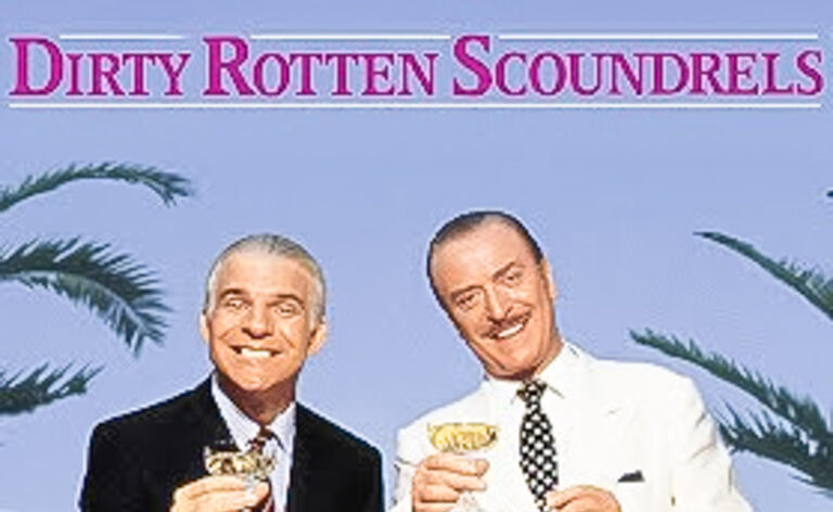 Dirty Rotten Scoundrels has some tricks up its sleeves Michael Caine and Steve Martin co-star as con men, stealing the spotlight from the original film.